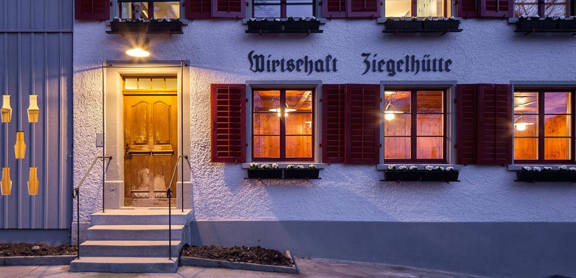 Umbau Restaurant Ziegelhütte