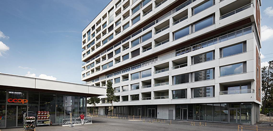 Neubau Hochhaus Hirzenbach