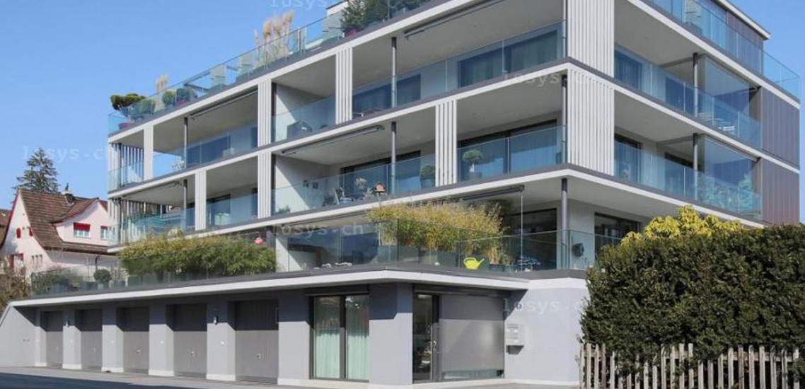 Referenz neubau mehrfamilienhaus be electric ag zollikon for Mehrfamilienhaus neubau