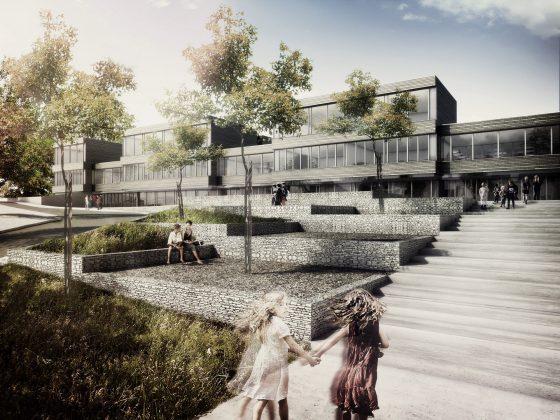 Neubau Schulhaus Goldbach