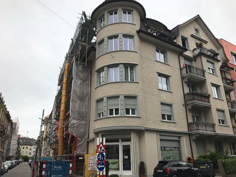 Umbau, Säntisstrasse 21